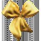 The Nutcracker Mini 1- Gold Brooch Bow