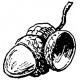 Acorn Stamp 001 Template
