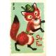Woodland Winter- Sly Fox Card