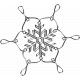 Woodland Winter- Snowflake 8