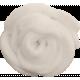 Woodland Winter- White Felt Flower