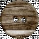 Woodland Winter- Wood Button