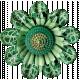 Rustic Charm- Green Flower