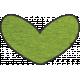 Look, A Book! - Green Heart Doodle
