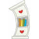 Look, A Book!- Doodle Bookcase