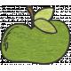 Look, A Book!- Green Apple Doodle