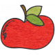 Look, A Book!- Red Apple Doodle