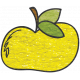 Look, A Book!- Yellow Apple Doodle