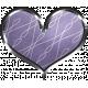 Winter Arabesque - Purple Heart