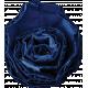Reflections of Strength- Dark Blue Cardboard Flower