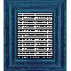 Summer Splash- Blue Frame