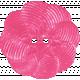 Summer Splash- Pink Flower Button