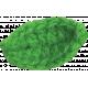 Strawberry Fields- Green Crochet Leaf1