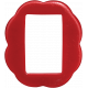 Strawberry Fields- Red Plastic Frame