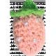 Strawberry Fields- Pink Crochet Strawberry