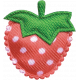 Strawberry Fields- Pink Silk Strawberry