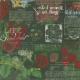 Strawberry Fields- Green Chalkboard Paper