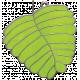 Strawberry Fields- Leaf Doodle Charm 01
