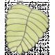 Strawberry Fields- Leaf Doodle Charm 02