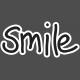 Heart Day Smile Word Art