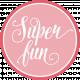 Heart Day Super Fun Word Art Circle