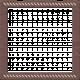 Friendship Day - Brown Stitched Frame