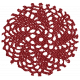 Classic Christmas- Red Doily