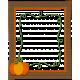 Pumpkin Patch Wooden Pumpkin Frame