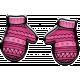 Winter Puffy Sticker Pink Mittens