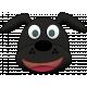 Shelter Pet Black Dog Element