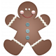 Home For The Holidays- Gingerbread Man Element