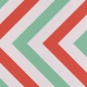 You Can't Buy Love But You Can Rescue It- Mint & Coral Chevron Paper