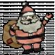 Retro Holly Jolly- Santa Element