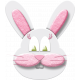 Easter- Pink Bunny Element