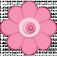 Easter- Pink Spring Flower Element