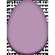 Easter- Purple Easter Egg