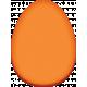 Easter- Orange Easter Egg