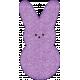 Easter- Purple Peep Bunny