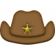 Toy Sheriff Hat Element