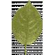 Grunge and Roses- Single Leaf