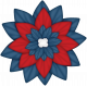 Celebrate America Flower #5