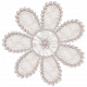 Sweet Vintage Lace Flower