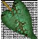 Altered Art Leaf #2