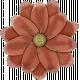 Retro Holly Jolly Flower #2