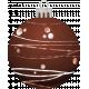 Retro Holly Jolly Ornament #3