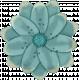 Retro Holly Jolly Flower #3