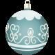 Retro Holly Jolly Ornament #4