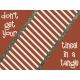 Retro Holly Jolly Journal/Pocket Card #2