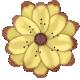 Retro Holly Jolly Flower #5