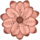 Retro Holly Jolly Flower #6